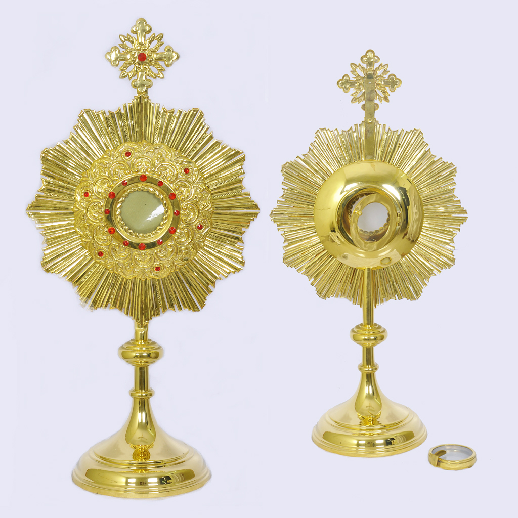 Monstrance 26 inch Monstrance with 3 inch Luna