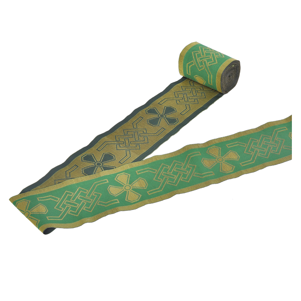 LACE Green Vestment Orphrey Band, Lace Trim