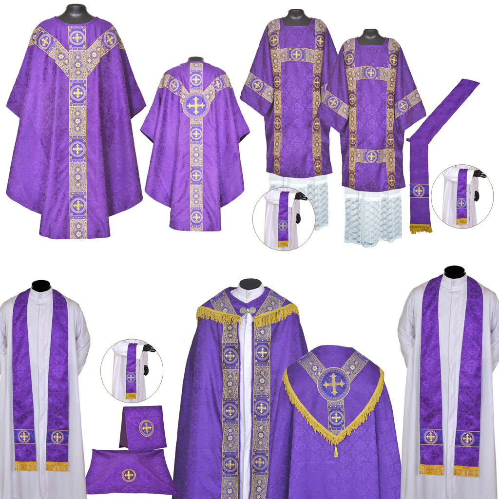 High Mass Sets Purple Gothic Solemn Requiem High Mass Set